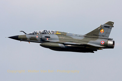 "A French Air Force Mirage 2000N (125-AJ/350, cn308), one of the ""Ramex Delta"" formation, on take-off, during the ""Luchtmachtdagen 2013"" at Volkel Air Base."