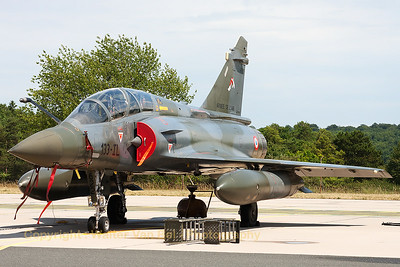 French Air Force Mirage 2000D (622; 133-IL; cn422) from EC1/3, now basking in the sun on the flight-line at Base Aérienne 133 (Nancy-Ochey).