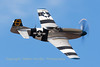 "Hangar 11 Collection's P-51D ""Jumpin' Jacques"", performs a nice high speed pass across the beach at Soutport Airshow."