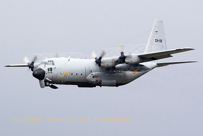 This Belgian Air Force C-130H Hercules (CH-09; cn382-4479), on take-off from KB, produces some nice prop-vortices during the spottersday, prior to the 2015 Sanicole Air Show.