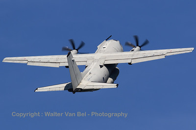 This Italian Air Force C-27J Spartan (MM62215, 46-80, cn114), performed a very spectacular take-off at Zeltweg Air Base (Airpower16).