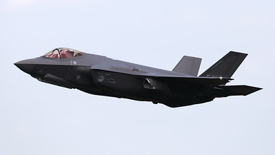 """This Royal Netherlands Air Force F-35A Lightning II (F-008; cnAN-8) took part in the """"Air Power Demo"""" during her first appearance at an airshow in the Netherlands (""""Luchtmachtdagen 2019"""" at Volkel AFB)."""