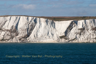 The white Cliffs of Dover...