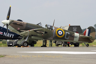 Supermarine 349 Spitfire Mk VB - in the c/s of Polish 317 Squadron - at the Beauvechain Air Show 2010.