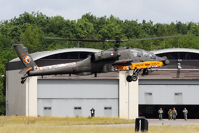 The 2010 Apache Solo Display at its home-base (Luchtmachtdagen 2010 at Gilze-Rijen).