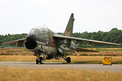 A Greece Air Force LTV TA-7C Corsair II (154477; cn B-117), on static display at the KB-Open door 2005.