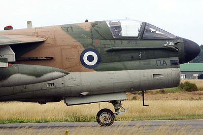 Thanks to the Greeks, we can still admire this beautiful oldie! A Greece Air Force LTV A-7E Corsair II (160736; cn E-514).