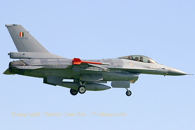 FA-57 (cn 6H-57) Belgian Air Component F-16AM returning from a FWIT-sortie at Leeuwarden AFB.