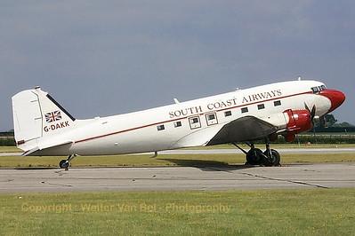 South-Coast_C-47A_Dakota_G-DAKK_EGXW_20020629_P0003511_WVB
