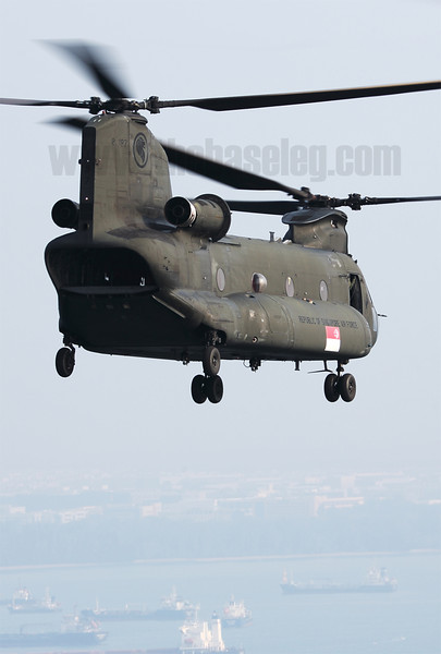 Republic of Singapore Air Force CH-47SD Chinook