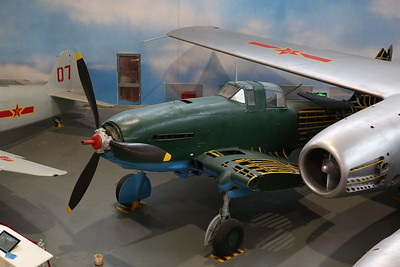 Ilyushin Il-10UTI 'Beast', '06', Soviet ground attack aircraft developed at the end of WW2 - 20/01/18.