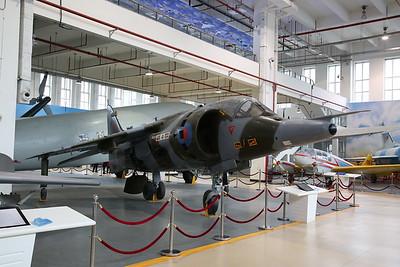 ex-RAF Hawker-Siddeley Harrier GR3, XZ965 - 20/01/18.