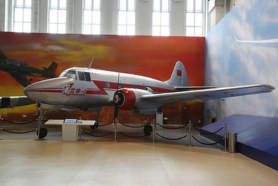 Beijing 1, '001', first Chinese-built airliner, did not enter production so this is the only example - 20/01/18.