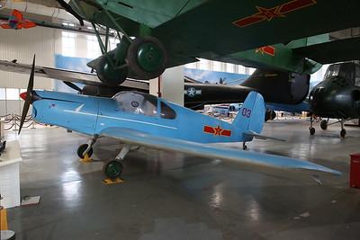 Benez-Mraz M-1C Sokol, '03', Czech-built post WW2 utility aircraft - 20/01/18.