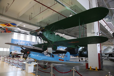 Polikarpov Po-2 'Mule', Russian-built utility biplane, and Benez-Mraz M-1C Sokol, '03', Czech built post WW2 utility aircraft - 20/01/18.
