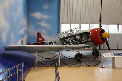North American AT-6D Texan, '7506' / '04', US-Built advanced trainer - 20/01/18.