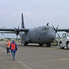 C-130 Taxing at Oshkosh - 29 July 2004