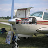 Larry's Bonanza at Oshkosh - 26 July 2004