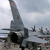 F-16 On Display at Oshkosh - 29 July 2004