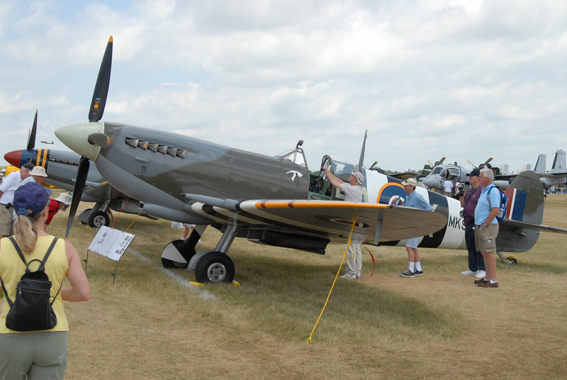 Spitfire, one of the most beautiful aircraft designs (IMHO)