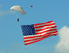 Old Glory opens the airshow