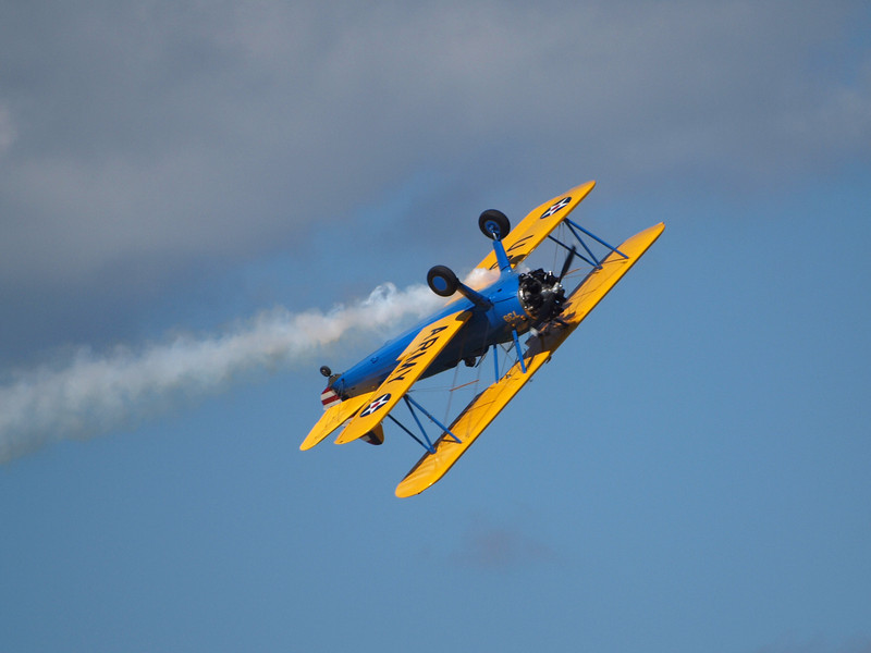 John Mohr's Boeing Stearman at AirVenture - 28 July 2010