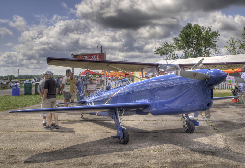 Avions Caudron C.460 at AirVenture - HDR - 28 July 2010