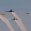 T-6 Formation at AirVenture - 29 July 2011