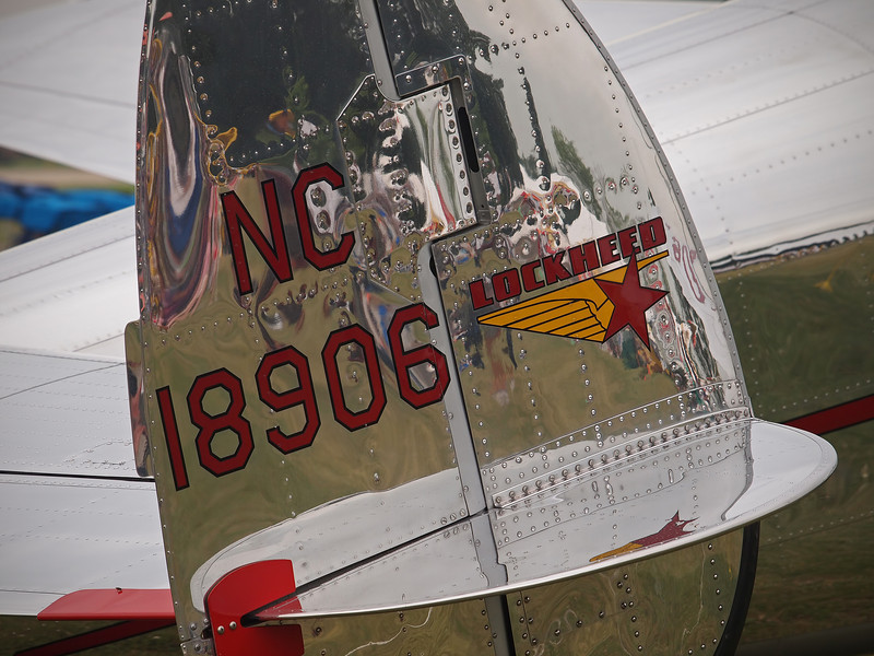 Lockheed 12A at AirVenture - 28 July 2011