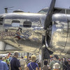B-17G Yankee Lady at AirVenture - HDR - 28 July 2012