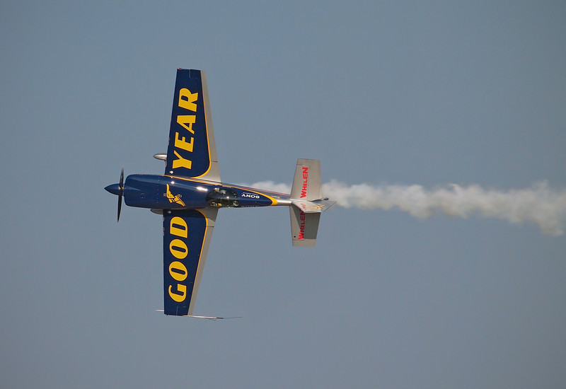 Mike Goulian's Extra 300SP at AirVenture - 28 July 2012