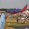 Southwest 737 at AirVenture - 28 July 2012