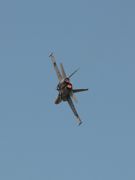 US Navy F/A-18 Hornet at AirVenture - 28 July 2012