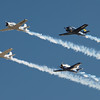 T-28 Formation at AirVenture - 28 July 2012