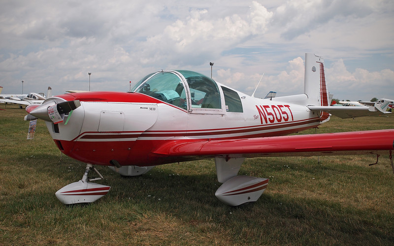 Mooney M-10 at AirVenture - 26 July 2012