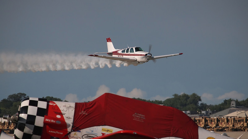 Beech F33C at AirVenture - 26 July 2012