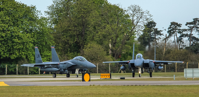 F15-E Strike Eagle - 48FW - 494FS - RAF Lakenheath (April 2016)