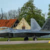 F22 Raptor - 325FW - 95FS - TY AF 04-4081 - RAF Lakenheath (April 2016)