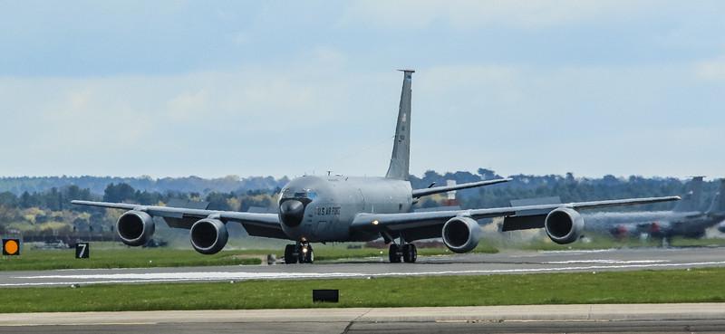 Boeing KC-135 Stratotanker - 80089 - 6AMW - 927ARW - RAF Mildenhall (April 2016)