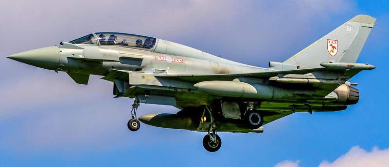 Eurofighter Typhoon - T3 - ZJ810 - BI - 29th Sqn - RAF Coningsby (May 2016)