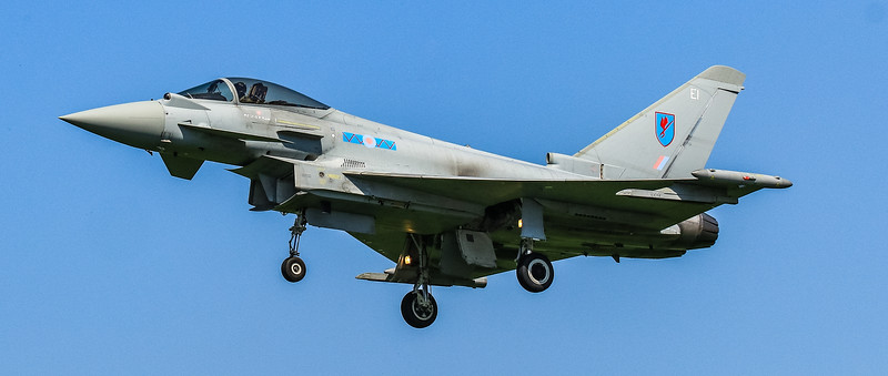 Eurofighter Typhoon - FGR4 - ZK324 - EI - 6th Sqn - RAF Coningsby (May 2016)
