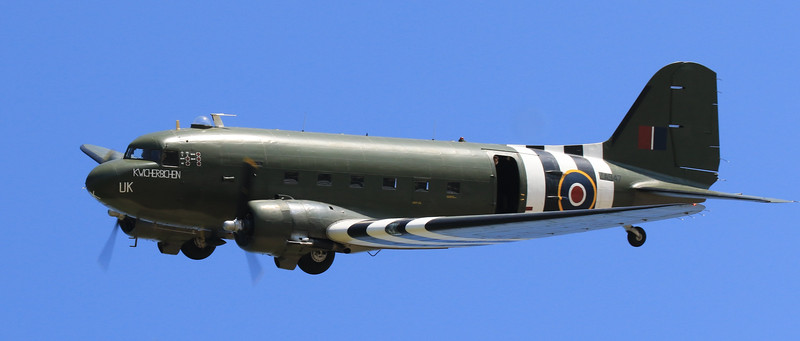 C-47 Douglas Dakota - BBMF - ZA947 - RAF Coningsby (May 2016)