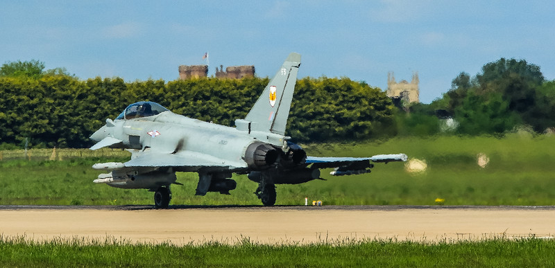 Eurofighter Typhoon - FGR4 - ZK333 - FS - 1st Sqn - RAF Coningsby (May 2016)
