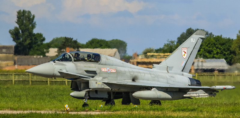 Eurofighter Typhoon - T3 - ZJ801 - BJ - 29th Sqn - RAF Coningsby (May 2016)