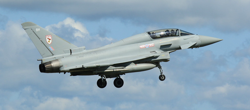 Eurofighter Typhoon - T3 - ZJ814 - BH - 29th Sqn - RAF Coningsby (May 2016)