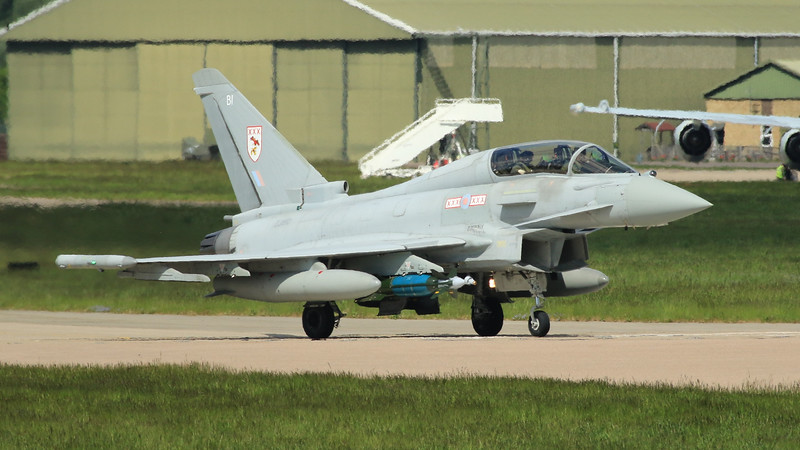 Eurofighter Typhoon - T3 - ZJ810 - BI - 29th Sqn - RAF Coningsby (May 2016)