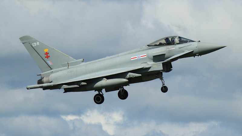 Eurofighter Typhoon - FGR4 - ZK321 - EB-R - 41st Sqn - RAF Coningsby (May 2016)