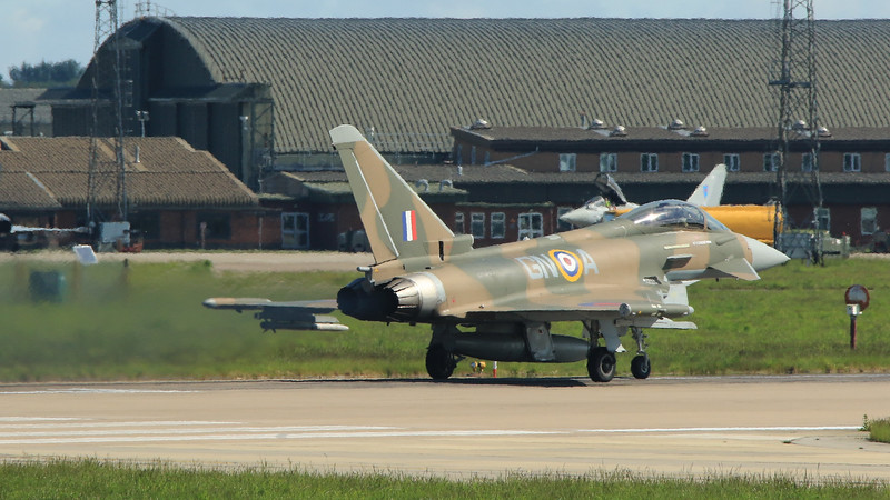 Eurofighter Typhoon - FGR4 - ZK349 - GiNA - RAF Coningsby (May 2016)