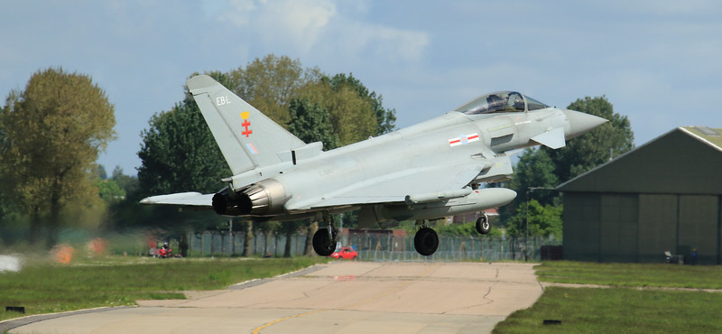 Eurofighter Typhoon - FGR4 - ZJ947 - EB-L - 41st Sqn - RAF Coningsby (May 2016)