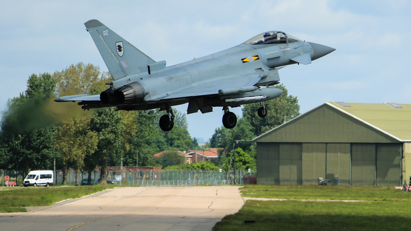 Eurofighter Typhoon - FGR4 - ZJ914 - DZ - 11th Sqn - RAF Coningsby (May 2016)